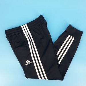 Adidas Boy's Small/8 Black Joggers